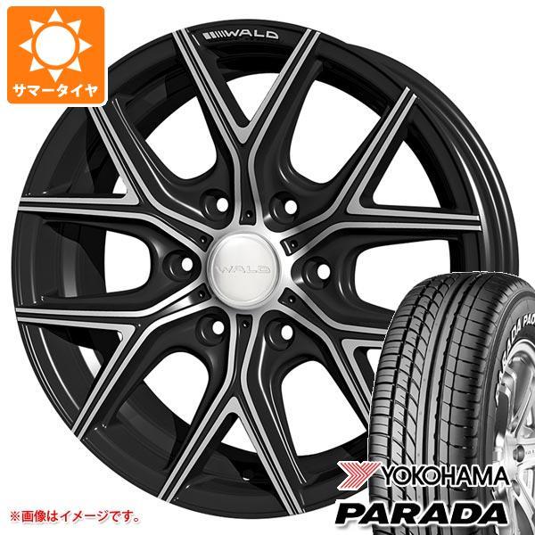ハイエース 200系専用 サマータイヤ ヨコハマ パラダ PA03 215/60R17C 109/107S ホワイトレター ヴァルド イリマ L11-C タイヤホイール4本セット