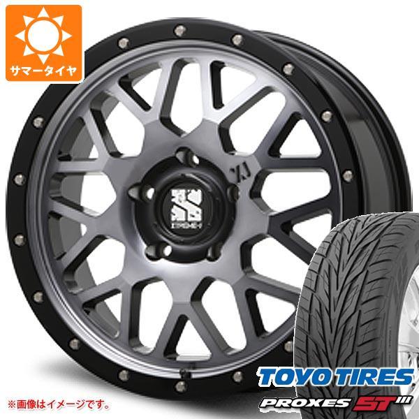 ランドクルーザー 200系専用 サマータイヤ トーヨー プロクセス S/T3 295/45R20 114V XL エクストリームJ XJ04 GS 8.5-20 タイヤホイール4本セット