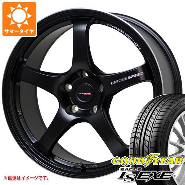 サマータイヤ 195/45R16 84W XL グッドイヤー イーグル LSエグゼ クロススピード ハイパーエディション CR5 6.0-16 タイヤホイール4本セット