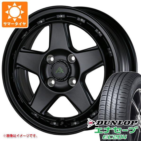サマータイヤ 155/65R14 75S ダンロップ エナセーブ EC204 ドゥオール フェニーチェ クロス XC5 5.0-14 タイヤホイール4本セット