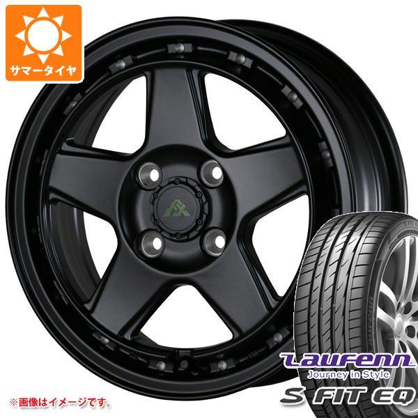 サマータイヤ 185 55R15 82H ラウフェン Sフィット EQ LK01 ドゥオール フェニーチェ クロス XC5 6.0-15 タイヤホイール4本セット 法事 引出物 名入れ