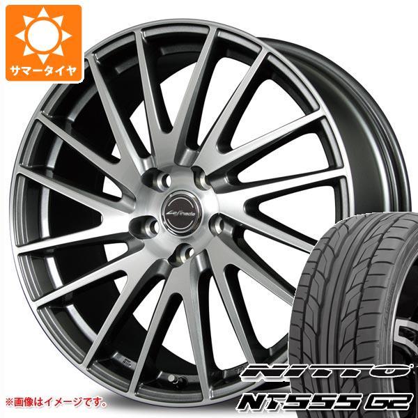 【予約販売】本 GS専用 サマータイヤ ニットー NT555 G2 245/40R18 97Y XL レフィナーダ モーション1 8.0-18 タイヤホイール4本セット, カラーハーモニー 8aa6d06b