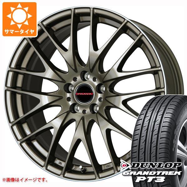 配送員設置 サマータイヤ 225 サマータイヤ/60R17 9M 99V ダンロップ グラントレック プラバ PT3 レイシーン プラバ 9M 7.0-17 タイヤホイール4本セット, アンジュ ange:f42a19de --- kventurepartners.sakura.ne.jp