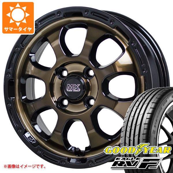 サマータイヤ 155/65R14 75H グッドイヤー イーグル RV-F マッドクロスグレイス 4.5-14 タイヤホイール4本セット
