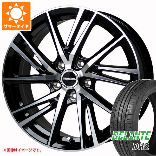 195/50R16 LW-06 デリンテ タイヤホイール4本セット 6.5-16 ラフィット XL DH2 88V サマータイヤ