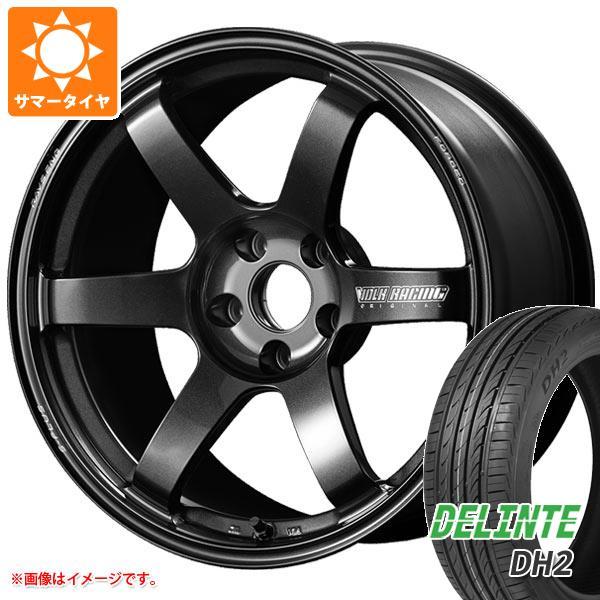 『3年保証』 サマータイヤ 225/40R18 92W XL デリンテ DH2 レイズ ボルクレーシング TE37 サーガ Sプラス 7.5-18 タイヤホイール4本セット, 香川県 c5e42667