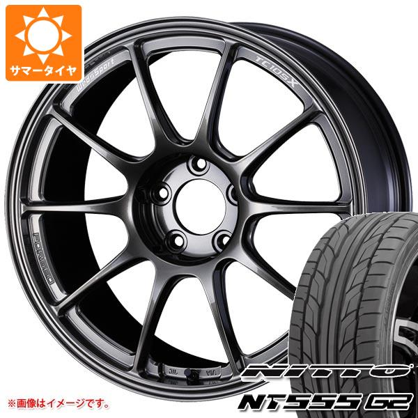 見事な創造力 サマータイヤ 225/45R18 95Y XL ニットー NT555 G2 ウェッズスポーツ TC105X フォージド 8.5-18 タイヤホイール4本セット, 中川町 a3a75e0e