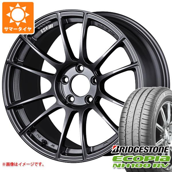 輝く高品質な サマータイヤ 235/50R18 101V サマータイヤ 8.5-18 XL XL ブリヂストン エコピア NH100 RV SSR GTX04 8.5-18 タイヤホイール4本セット, サガシ:8e2e450b --- mail.durand-il.com