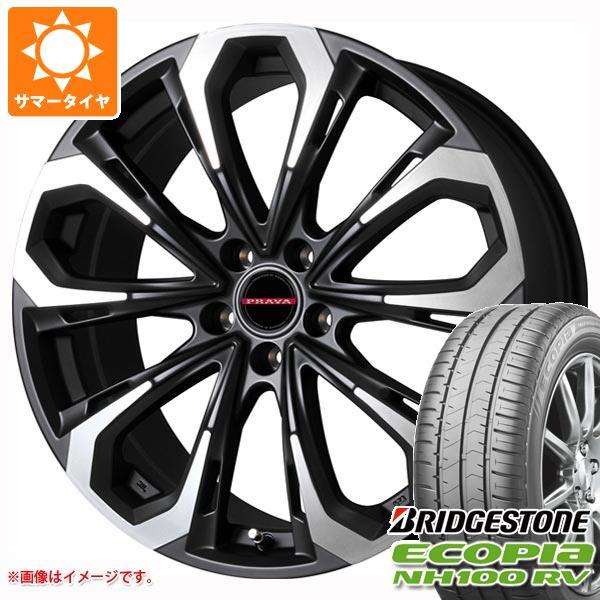 日本最大の サマータイヤ エコピア 215 5X/60R16 95H ブリヂストン エコピア プラバ NH100 RV レイシーン プラバ 5X 6.5-16 タイヤホイール4本セット, アクアマーケット:0404b1d0 --- supernovahol.online