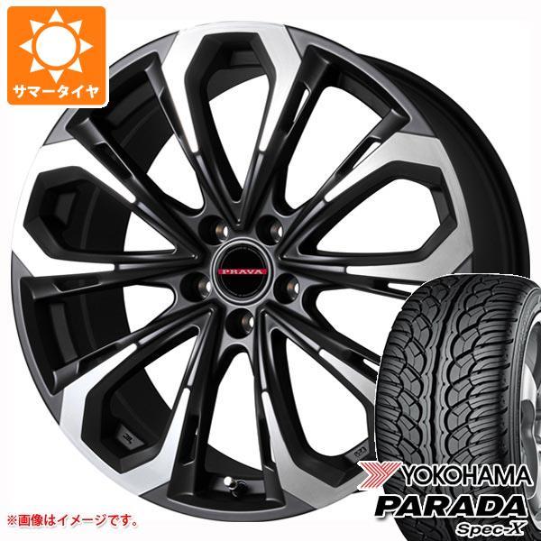 最新のデザイン サマータイヤ 235 レイシーン/55R18 100V パラダ ヨコハマ 8.0-18 パラダ スペック-X PA02 レイシーン プラバ 5X 8.0-18 タイヤホイール4本セット, JOYライト:4c2d475a --- sap-latam.com