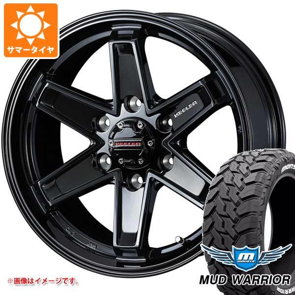 高い品質 サマータイヤ 265/65R17 120/117Q モンスタ マッドウォーリアー ホワイトレター キーラー タクティクス 8.0-17 タイヤホイール4本セット, Collet Magasin b4399e59