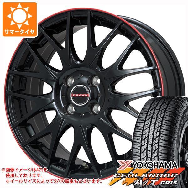 数量は多い  サマータイヤ 215 プラバ/60R16 95H ヨコハマ 9M ジオランダー 95H A/T G015 ブラックレター レイシーン プラバ 9M ジュニア 6.5-16 タイヤホイール4本セット, Depot:82b9f45d --- agrohub.redlab.site