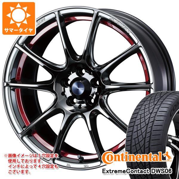 【期間限定】 サマータイヤ 245/50R18 100W 100W コンチネンタル エクストリームコンタクト DWS06 245/50R18 SA-25R ウェッズスポーツ SA-25R 8.0-18 タイヤホイール4本セット, Retom リトム:5b0c6a6e --- adaclinik.com