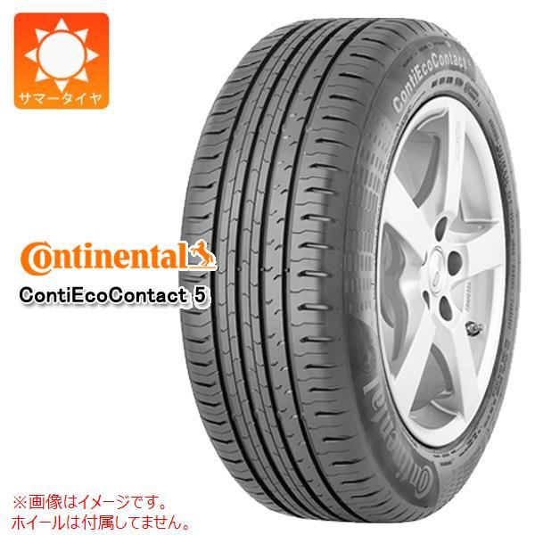 4本 サマータイヤ 185/60R15 84H コンチネンタル コンチエココンタクト5 AO アウディ承認 CONTINENTAL ContiEcoContact 5 正規品