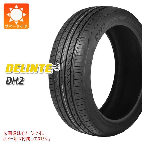 2本 サマータイヤ 225/40R18 92W XL デリンテ DH2 DELINTE DH2