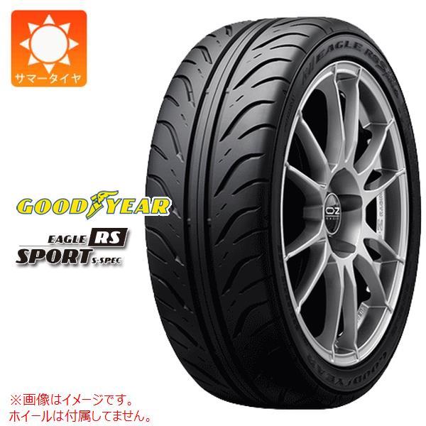 4本 サマータイヤ 255/40R17 94W グッドイヤー イーグル RSスポーツ GOODYEAR EAGLE RS SPORT S-SPEC