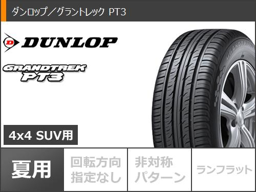 ジムニー専用サマータイヤダンロップグラントレックPT3175/80R1691SMK-55JDCPWタイヤホイール4本セット