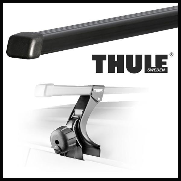 THULE スーリー ホンダ バモス(ホビオ除く) HM1/HM2 H11/6~ ルーフキャリア取付セット TH369+TH7124セット