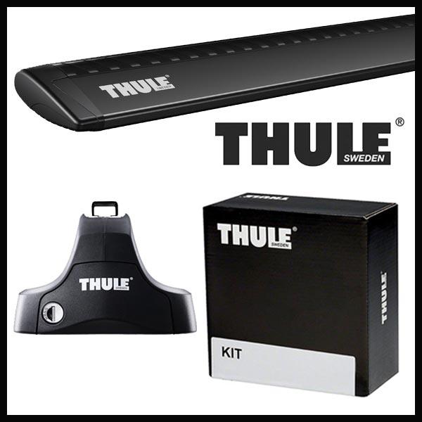 THULE スーリー スズキ エリオ 5ドア RB21S/RD51S H13/1~ ルーフキャリア取付1台分セット TH754+TH7112B+TH1235セット