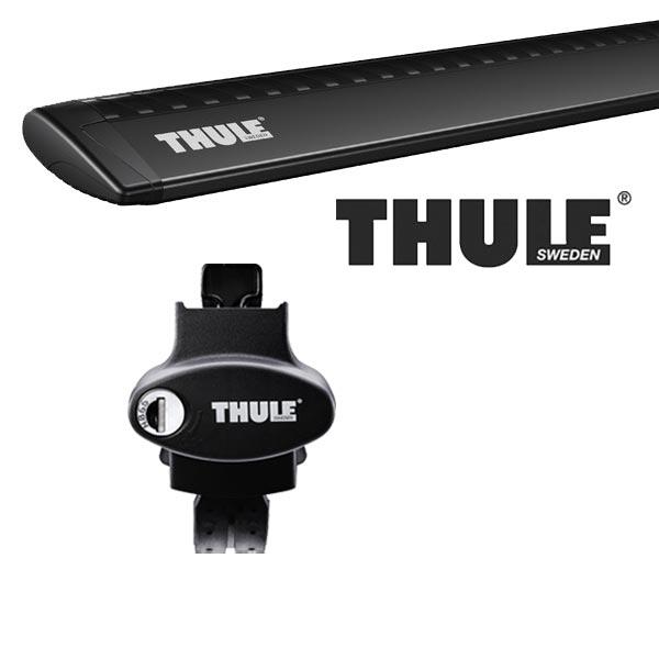 THULE スーリー ジープ チェロキー ルーフレール付 KL24/KL32 14~ ルーフキャリア取付セット TH775+TH969Bセット