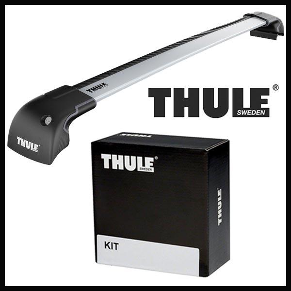 THULE スーリー プジョー 3008 T85F2 10~ ルーフキャリア取付セット TH9596+TH3017