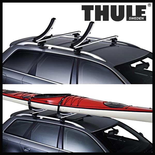 Thule K-Guard TH840 カヤックキャリア スーリー Kガード TH840 ※WingbarEvoには装着不可【沖縄・離島発送不可】