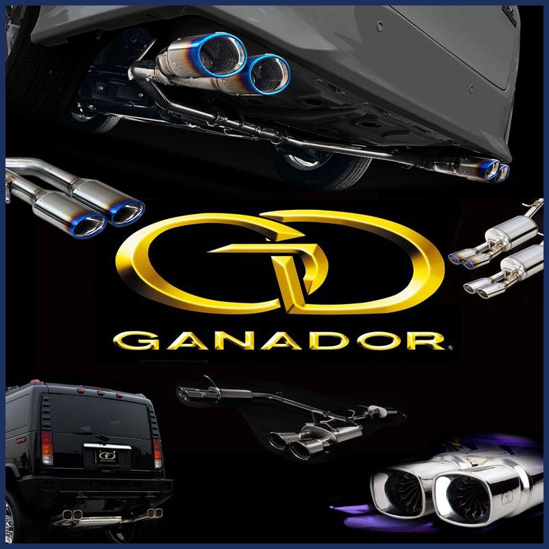 GANADOR マフラー Vertex 4WD/SUV トヨタ ハイラックスサーフ CBA-TRN215W H16/8~H21/9 品番:GD-110 ガナドール【沖縄・離島発送不可】