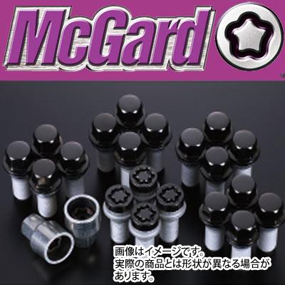 【正規品】 マックガード(McGard) MCG-67226BK ボルトインストレーションキット(黒) M14×P1.25 17HEX テーパー 輸入車用 盗難防止ロックボルト
