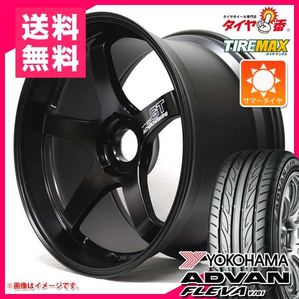 サマータイヤ 245/40R18 97W XL ヨコハマ アドバン フレバ V701 アドバンレーシング GT 8.5-18 タイヤホイール4本セット