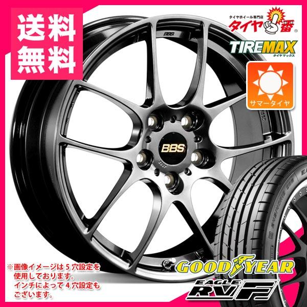 サマータイヤ225/45R1895WXLグッドイヤーイーグルRV-FBBSRF8.0-18タイヤホイール4本セット