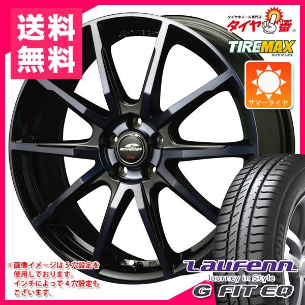 サマータイヤ 165/60R14 75H ラウフェン Gフィット EQ LK41 シュナイダー DR-01 BPBC 4.5-14 タイヤホイール4本セット