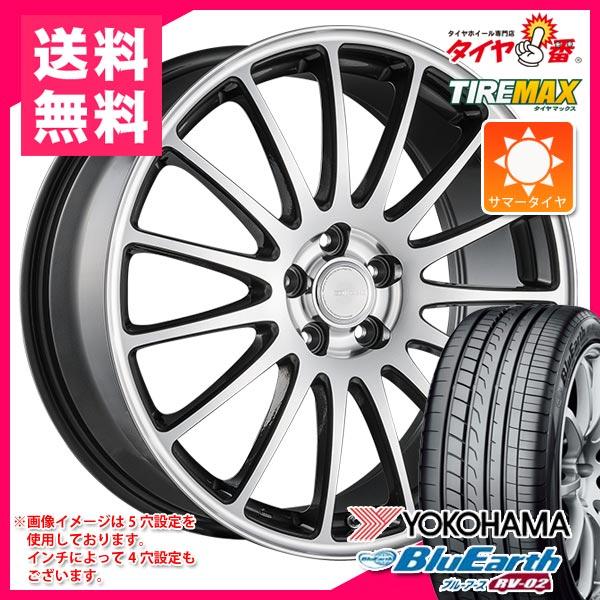 2019年製 サマータイヤ 155/65R14 75H ヨコハマ ブルーアース RV-02CK エコフォルム CRS12 4.5-14 タイヤホイール4本セット