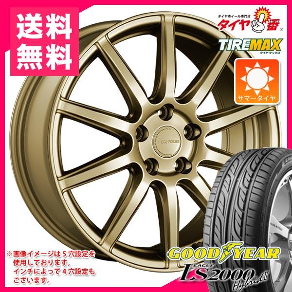 サマータイヤ 155/55R14 69V グッドイヤー イーグル LS2000 ハイブリッド2 エコフォルム CRS131 4.5-14 タイヤホイール4本セット