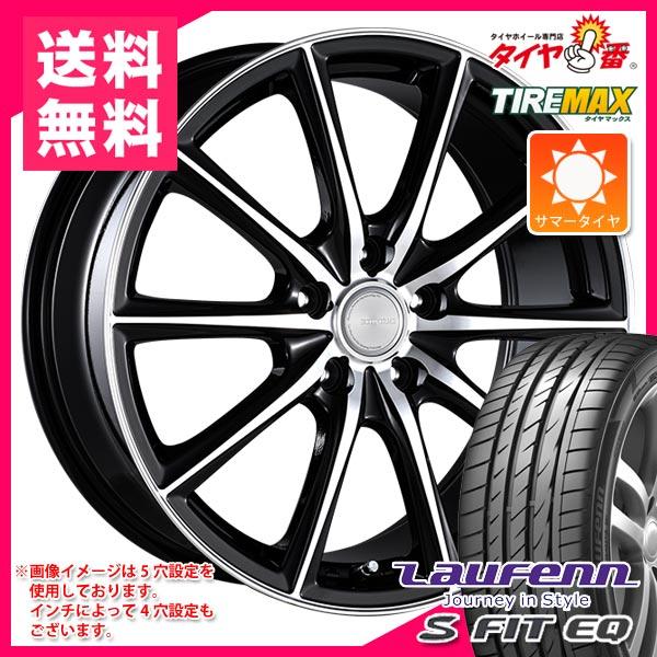 サマータイヤ 215/60R16 99H XL ラウフェン Sフィット EQ LK01 エコフォルム CRS15 6.5-16 タイヤホイール4本セット