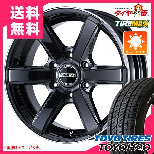 サマータイヤ 225/50R18 107/105R トーヨー H20 ブラックレター & エセックス EC 7.5-18 タイヤホイール4本セット, グローブ湯もみ ナカムラスポーツ:a49f27aa --- kiiro.jp