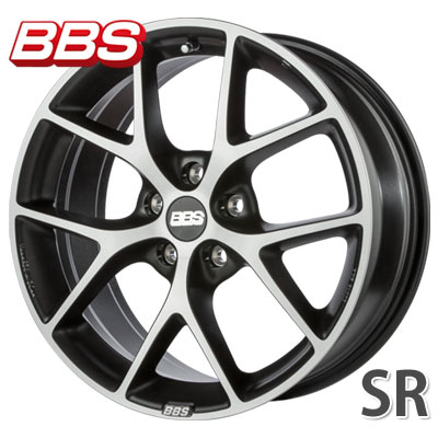 BBS SR ボルケーノグレーDC 7.5-17 ホイール1本 BBS SR VGDC
