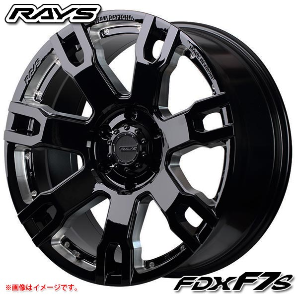 レイズ デイトナ FDX F7S 8.5-20 ホイール1本 DAYTONA FDX F7S