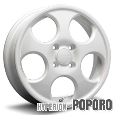 ハイペリオン ポポロ 4.5-15 ホイール1本 HYPERION POPORO