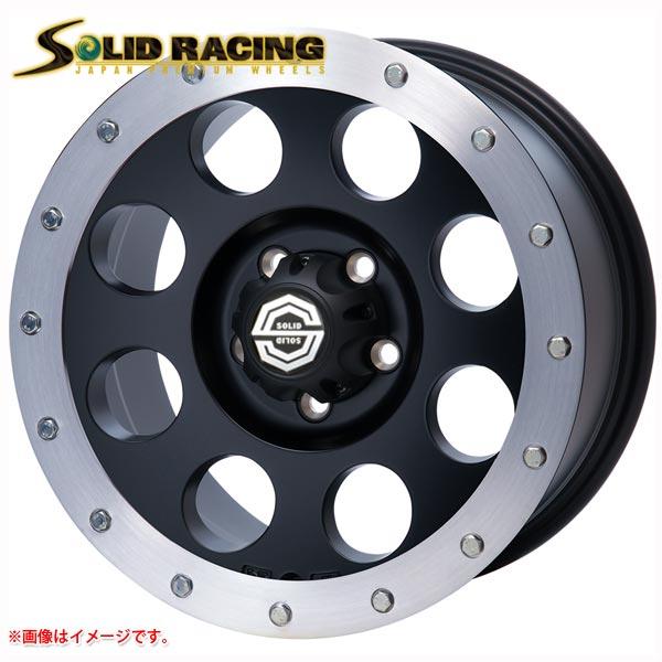 ソリッドレーシング アイメタル X2 ストリートリング付 8.0-16 ホイール1本 I metal X2 ストリートリング付