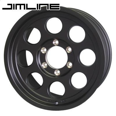 ジムライン タイプ2 マットブラック 6.0-15 ホイール1本 JIMLINE TYPE-2 マットブラック ジムニーシエラ専用
