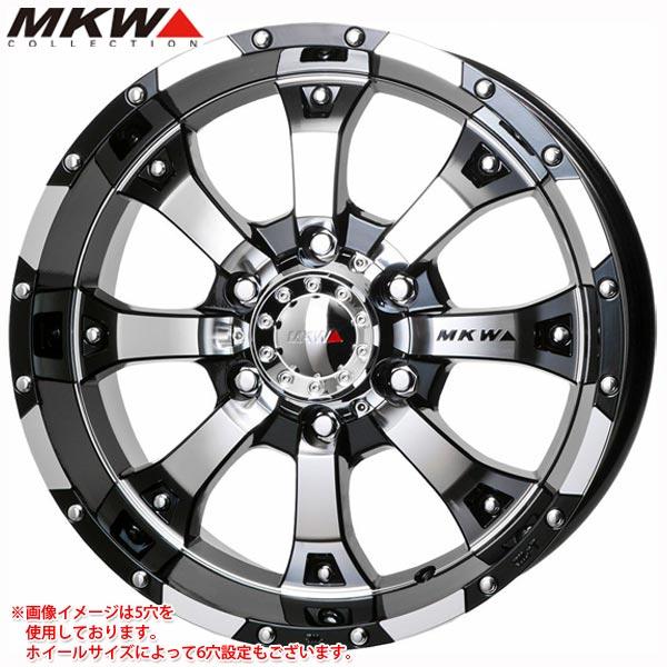 MK-46 DCGB 7.0-16 ホイール1本 MK-46 Diacut Glossblack