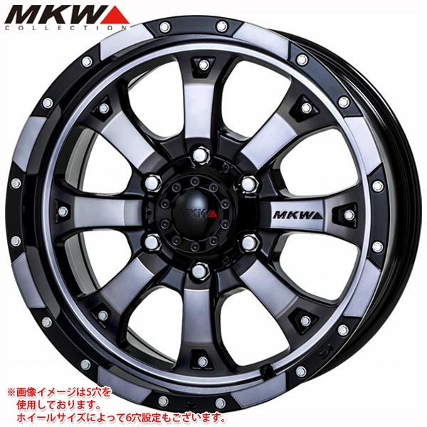 MKW MK-46 7.5-17 ホイール1本 MK-46