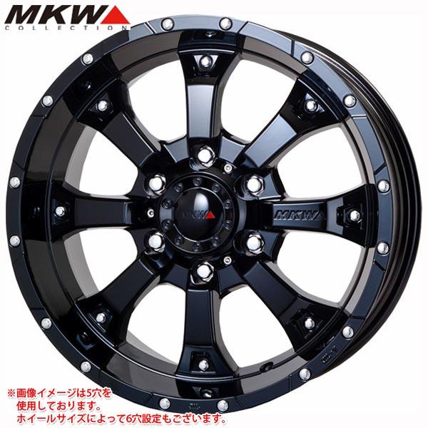 MK-46 GB 7.0-16 ホイール1本 MK-46 Glossblack