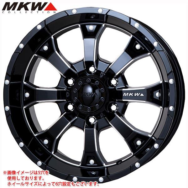 MK-46 M/L+ MB 7.0-16 ホイール1本 輸入車用 MK-46 M/L+ Milled Black レネゲード専用