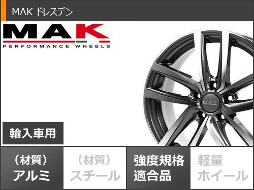 VWザビートル用スタッドレスヨコハマアイスガードシックスiG60235/45R1894QMAKドレスデンブラックタイヤホイール4本セット