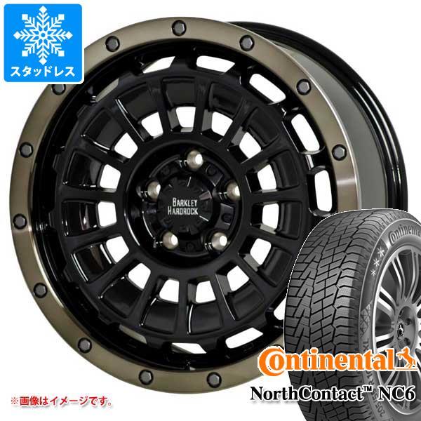 スタッドレスタイヤ コンチネンタル ノースコンタクト NC6 225/65R17 102T & バークレイハードロック ローガン 7.0-17 タイヤホイール4本セット 225/65-17 CONTINENTAL NorthContact NC6