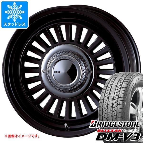 スタッドレスタイヤ ブリヂストン ブリザック DM-V3 265/70R16 112Q & クリムソン ディーン カリフォルニア 7.0-16 タイヤホイール4本セット 265/70-16 BRIDGESTONE BLIZZAK DM-V3