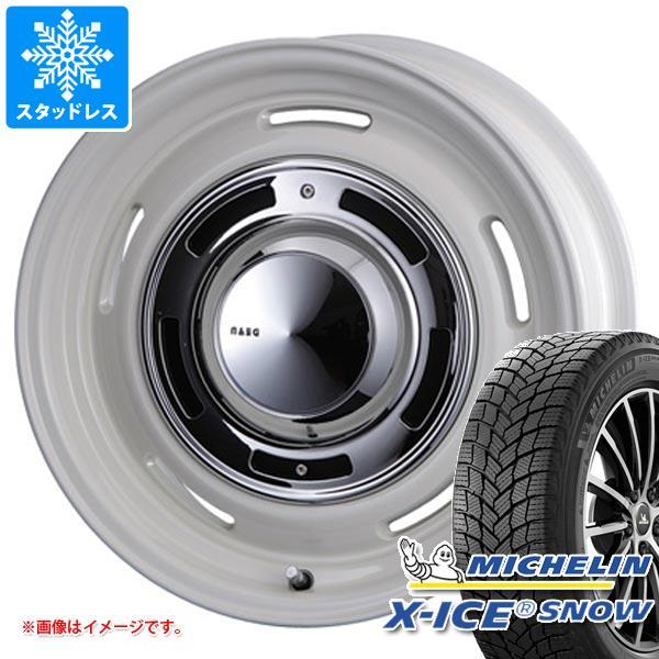 ジープ レネゲード BU系用 2020年製 スタッドレス ミシュラン エックスアイススノー 215/60R17 100T XL クリムソン ディーンクロスカントリー タイヤホイール4本セット