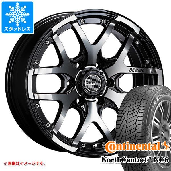 スタッドレスタイヤ コンチネンタル ノースコンタクト NC6 265/60R18 114T XL & SSR ディバイド ZS 8.0-18 タイヤホイール4本セット 265/60-18 CONTINENTAL NorthContact NC6
