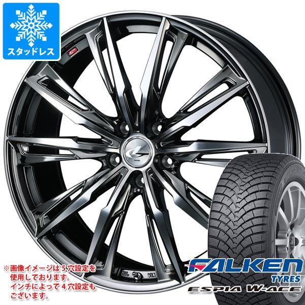 スタッドレスタイヤ ファルケン エスピア ダブルエース 155/65R14 75S & レオニス GX 4.5-14 タイヤホイール4本セット 155/65-14 FALKEN ESPIA W-ACE